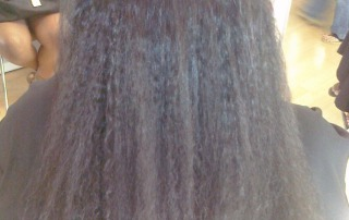 Dallas Brazilian Blowout Before and After