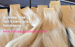 Quikkies Tape Hair Extensions Dallas