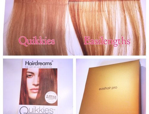 Quikkies vs. Easilengths – Which Dallas tape in hair extension is right for me?