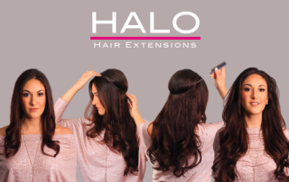 Halo Hair Extensions Dallas