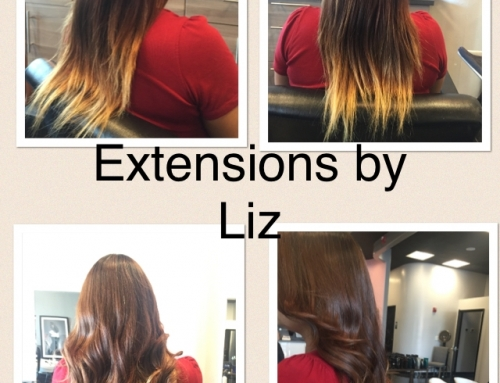 Tape Hair Extensions Before and After Dallas