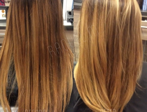 Before & After Balayage Dallas