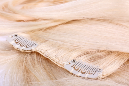 Clip in hair extensions in Dallas TX