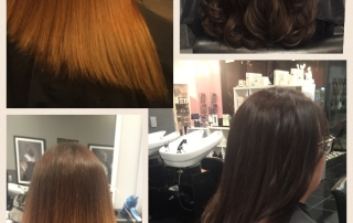 Dallas Hair Extensions Before and After