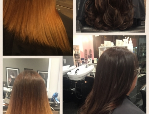 Hairdreams Fusion Hair Extensions Before & After Dallas