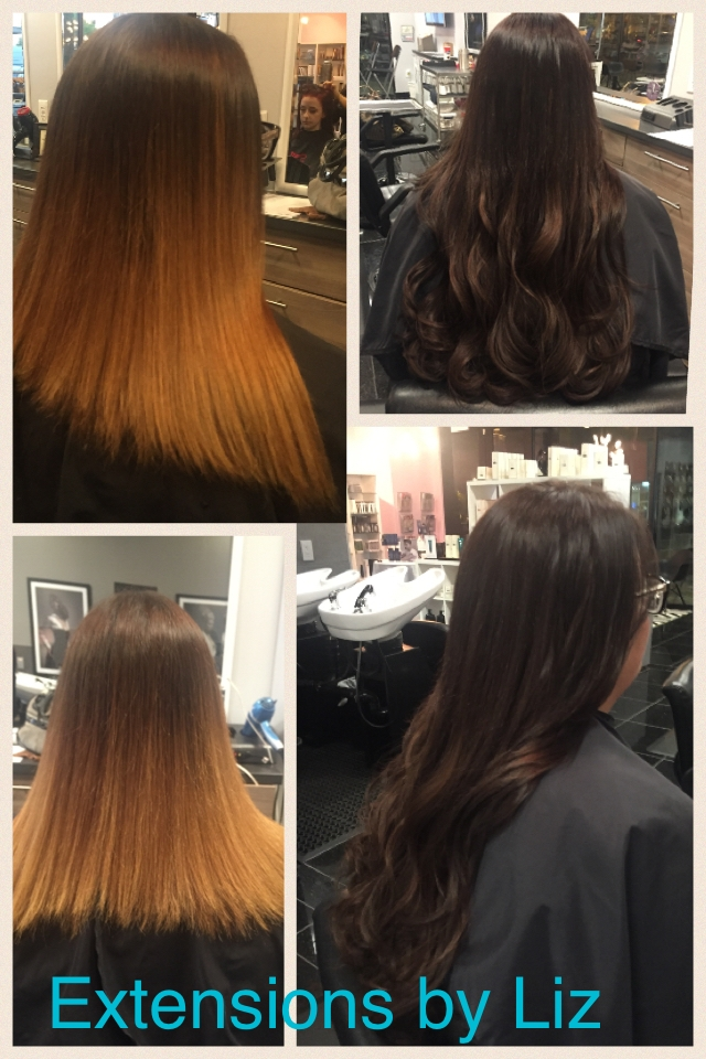 Hairdreams Fusion Hair Extensions Before After Dallas The Beauty