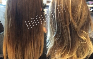 Dallas Balayage Before and After